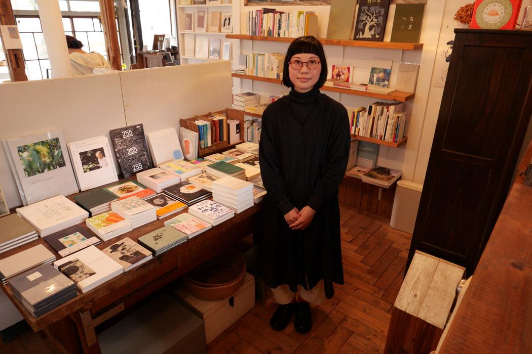 ナツメ書店の奥由美子さん